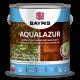 Декоративное средство для древесины Байрис Aqualazur белая (2,5 л)